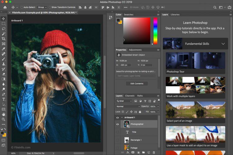 Aplikasi Edit Foto PC Adobe Photoshop