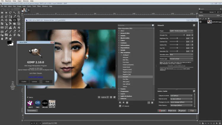 Software Editing Foto PC GIMP