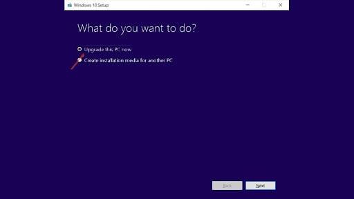 Langkah update windows 10