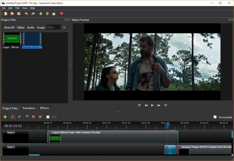 Aplikasi edit video pc gratis OpenShot
