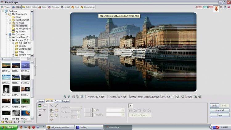 Software editor foto PC PhotoScape