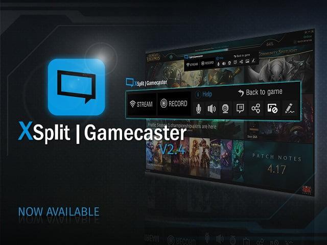XSplit Gamecaster