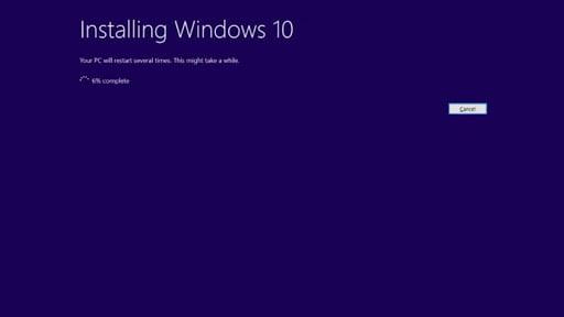 cara pembaruan windows 10