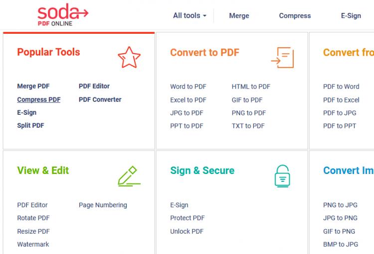 langkah kompres file pdf