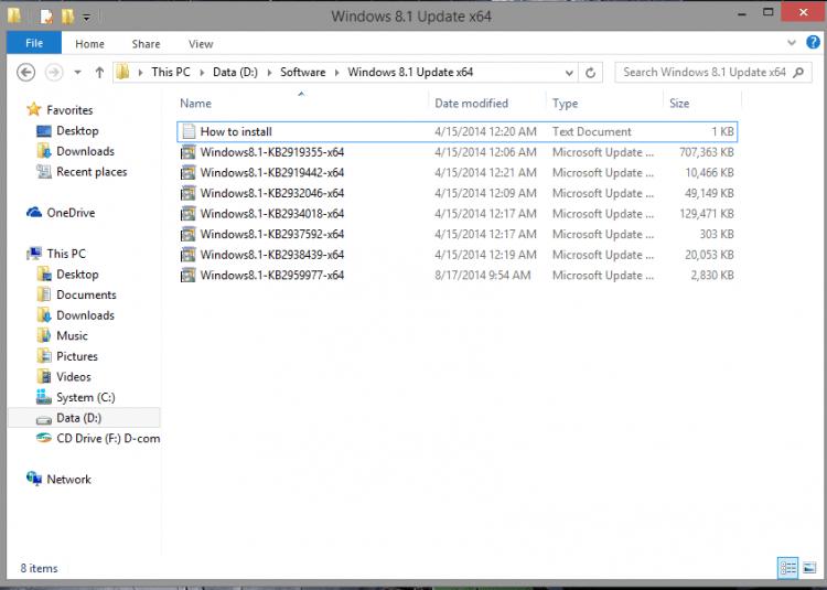 Unduh file update