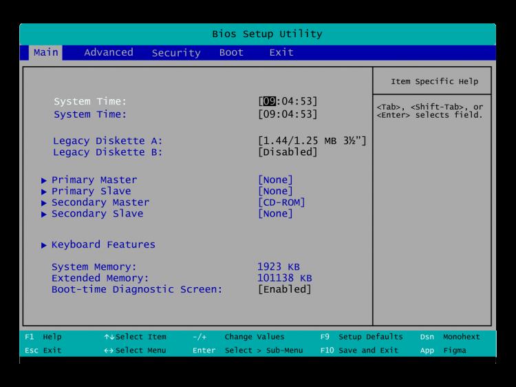langkah 1 instal windows 8