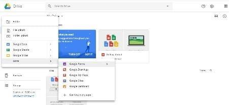 pilih Google Form