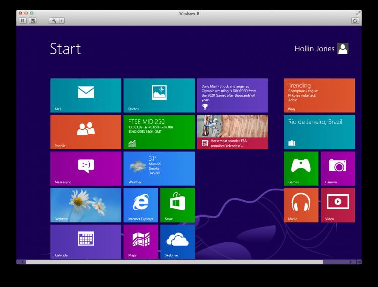 Tunggu beberapa menit dan setelah itu Anda akan dibawa menuju desktop sesuai pengaturan yang telah dilakukan.